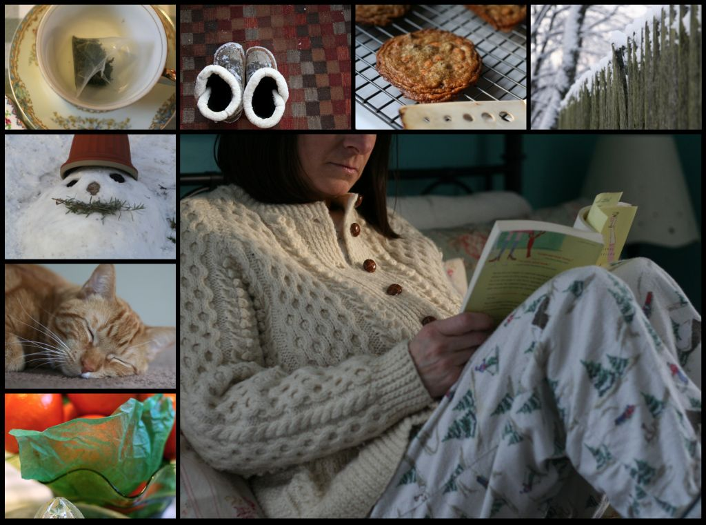 Sick day collage