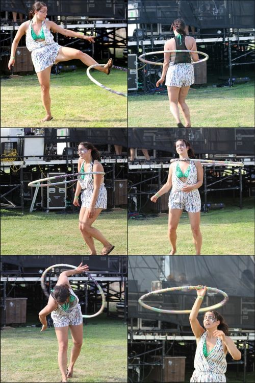 Hoops collage